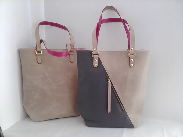 Bolso SHOPPER CREMA