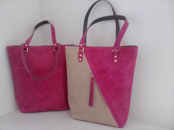 Bolso SHOPPER FUCSIA