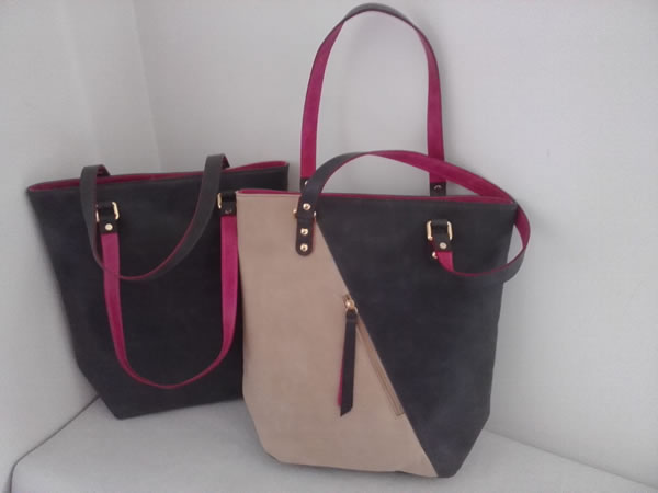 Bolso SHOPPER GRIS